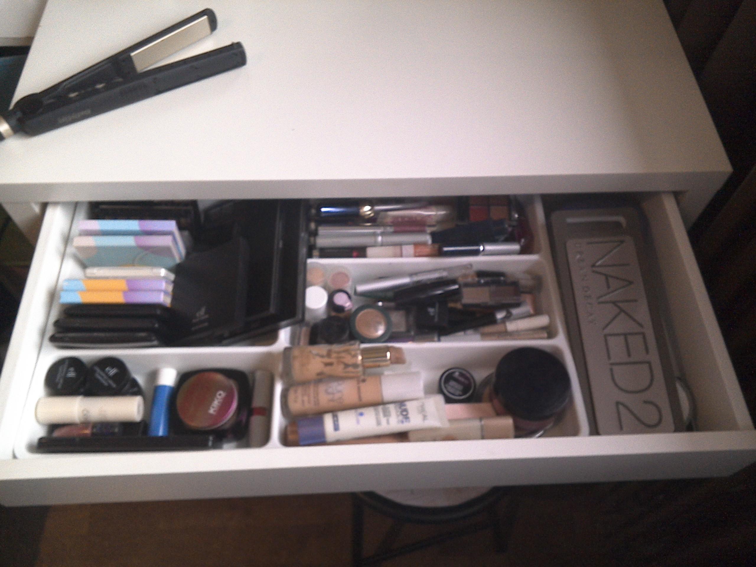 Conseil rangement make up thebeautycompany - Boite rangement maquillage ikea ...